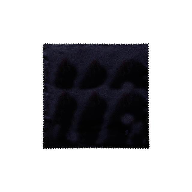 RPET CLOTH - Čistící hadřík z RPET  - černá