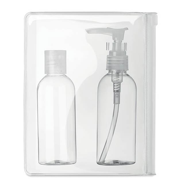 SANI - set of bottles of 100 ml - transparent