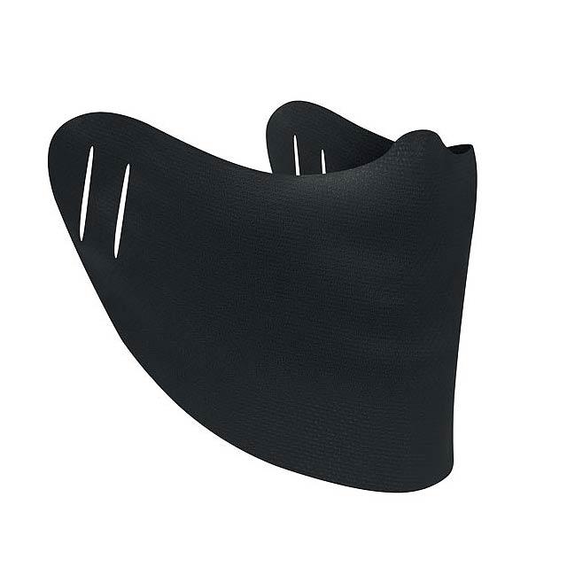 COVERFACE - universal drape - black