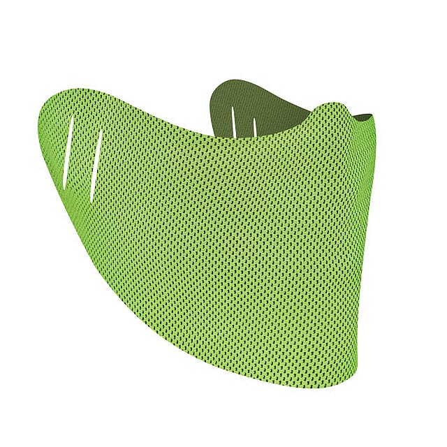 COVERFACE - universal drape - lime