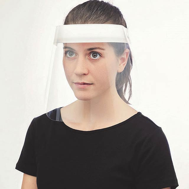 PROTECT - Face shield - white