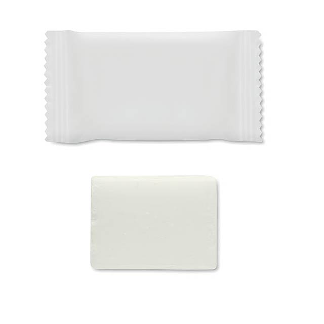 SOAPKLEAN - Small soap 9 g - white