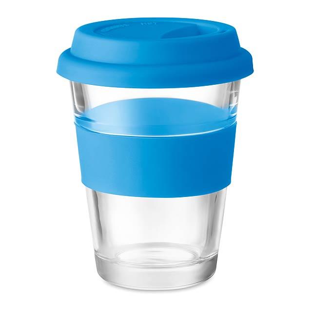 ASTOGLASS - Skleněný pohárek  - modrá