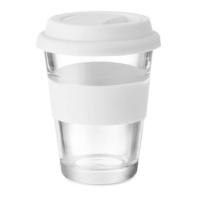 ASTOGLASS - Skleněný pohárek  - bílá