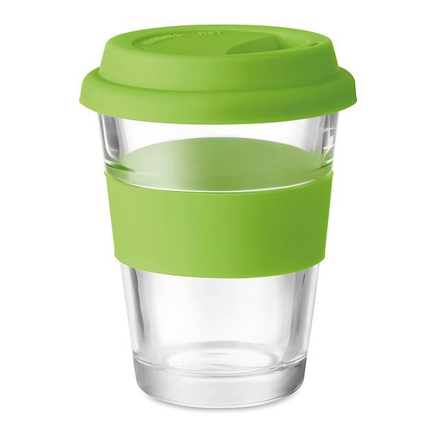 ASTOGLASS - Skleněný pohárek  - citrónová - limetková