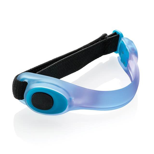 Bezpečnostní LED pásek - modrá