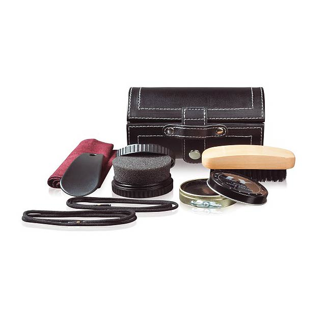 Essential shoe maintenance set - black