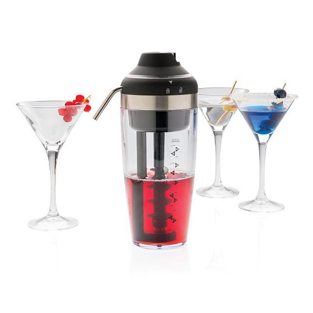 Elektrický mixér na koktejly, šedá - šedá