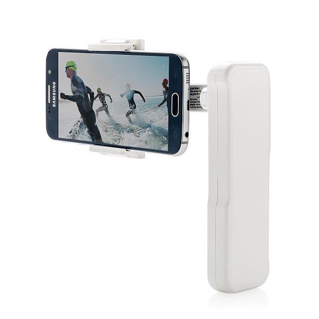 Stabilizátor mobilního telefonu, bílá - bílá