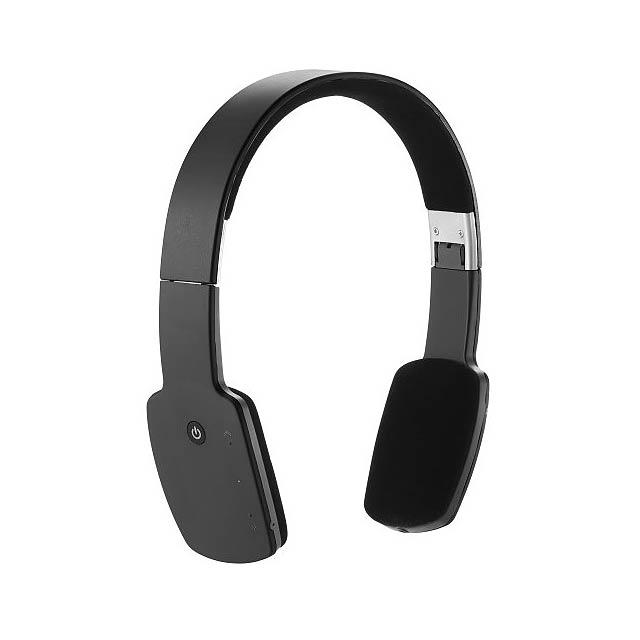 Bezdrátová sluchátka, černá - černá