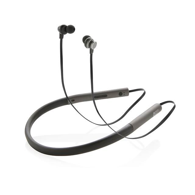 Basová sluchátka do uší Swiss Peak - šedá