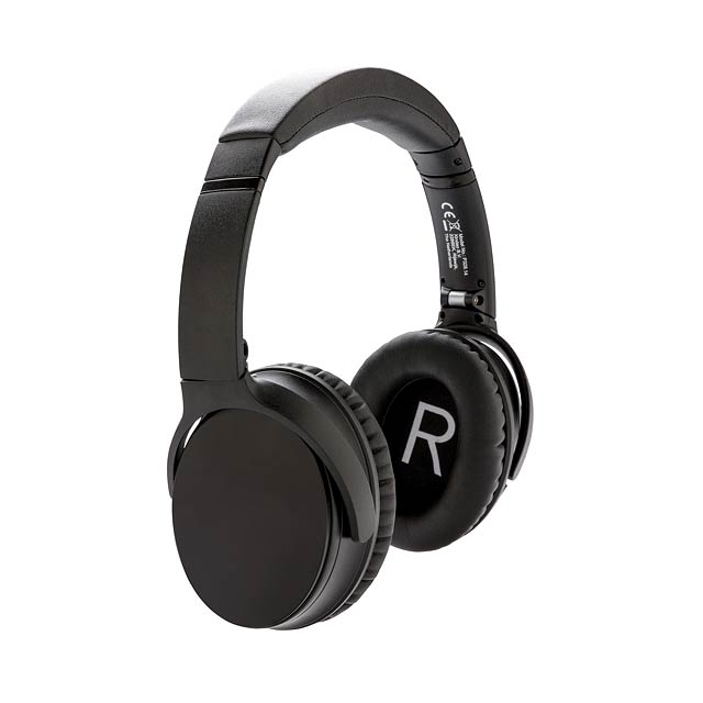 Swiss Peak ANC sluchátka - černá