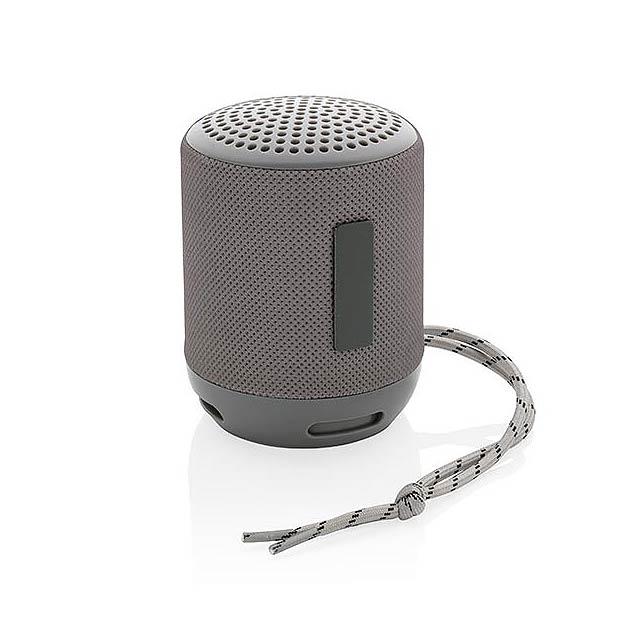 Voděodolný reproduktor Soundboom 3W - šedá
