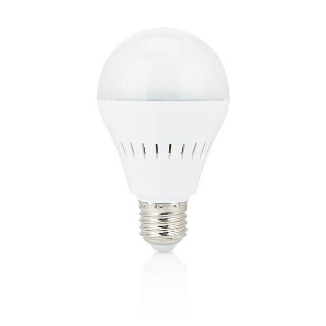 Inteligentní žárovka sbezdrátovým reproduktorem, bílá - bílá