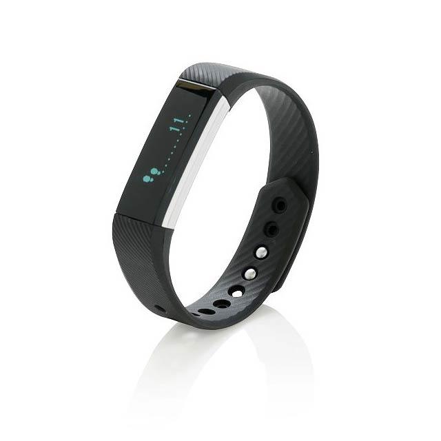 Monitor aktivity Smart Fit, černá - černá