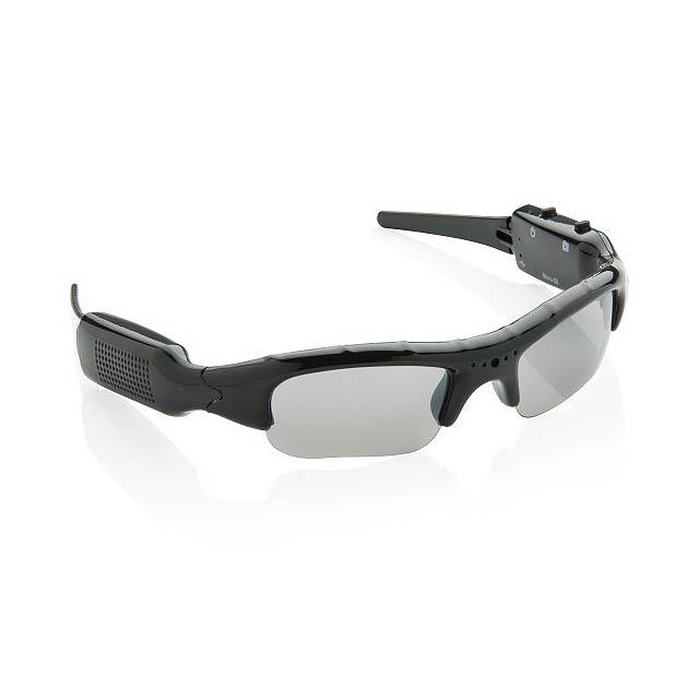 Brýle skamerou, černá - černá