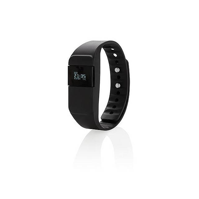 Monitor aktivity Keep fit, černá - černá