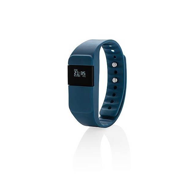Monitor aktivity Keep fit, modrá - modrá