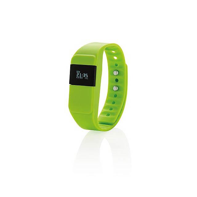 Monitor aktivity Keep fit, zelená - foto