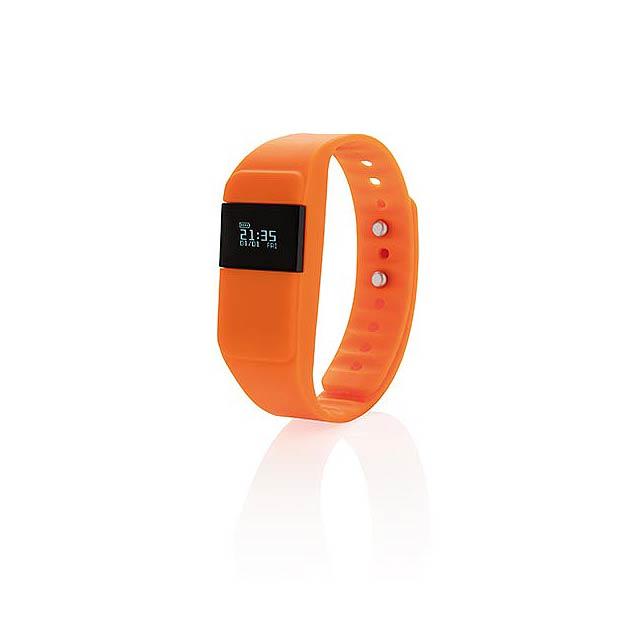 Monitor aktivity Keep fit, oranžová - oranžová
