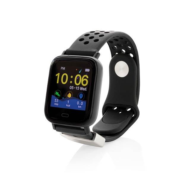 Chytré hodinky Fit - černá