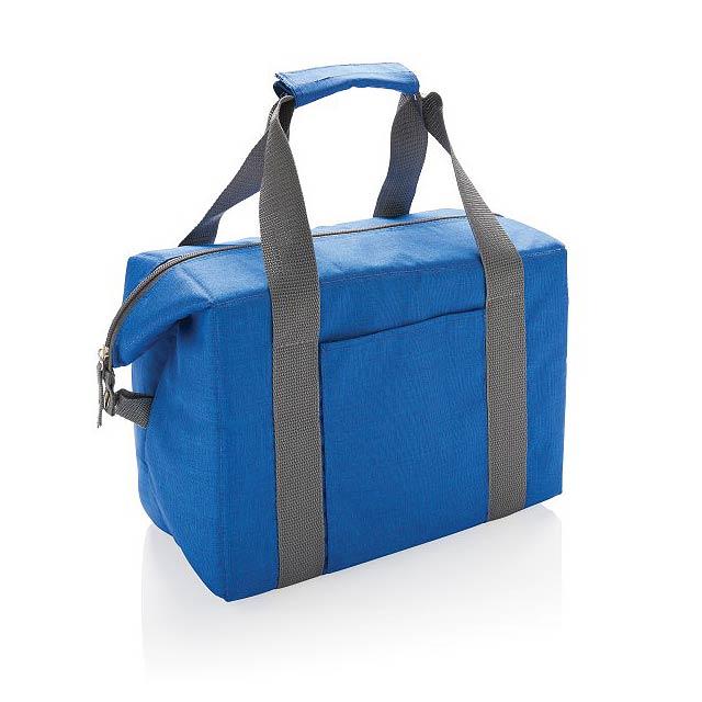 Nákupní a sportovní chladicí taška, modrá - modrá