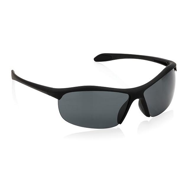 Sportovní sluneční brýle, černá - černá