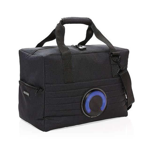 Party chladicí taška sreproduktorem - černá