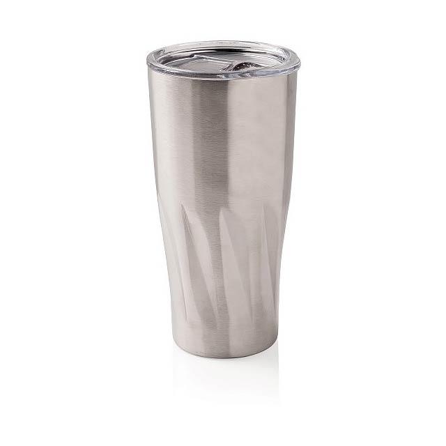 Termohrnek s vakuově měděnou izolací, stříbro - stříbrná