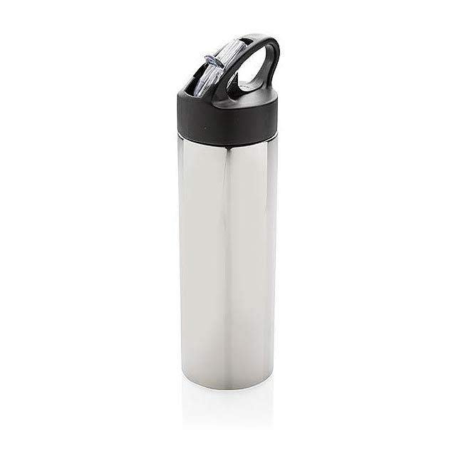 Sportovní termoska - silver