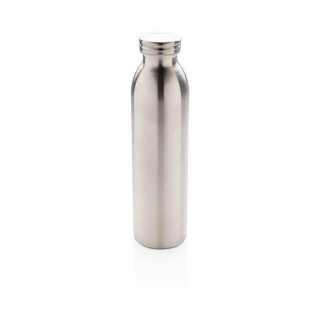 Nepropustná termo láhev s měděnou izolací - stříbrná