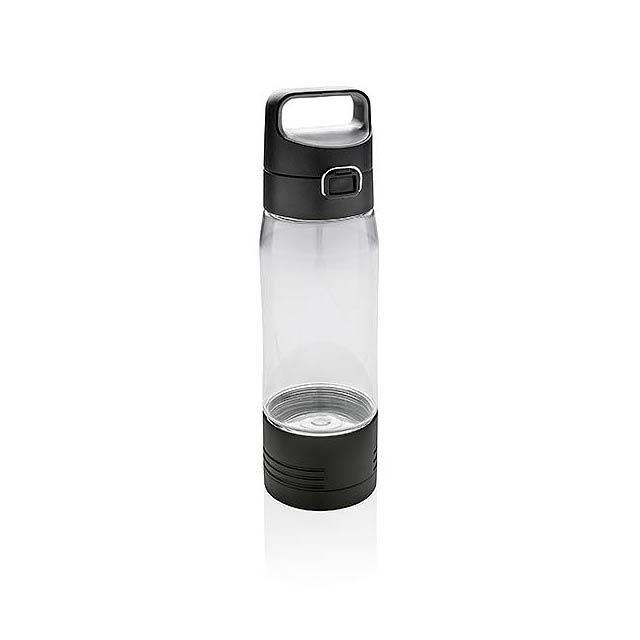 Láhev Hydrate s bezdrátovým nabíjením - transparentní