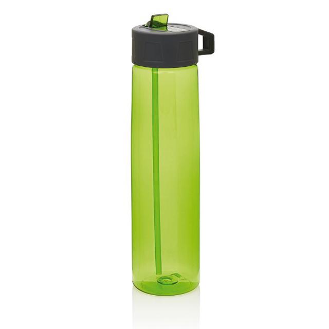 Tritanová lahev sbrčkem, zelená - zelená