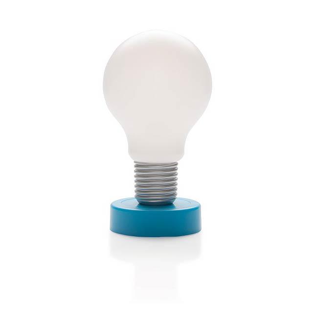 Dotykové světlo, modrá - modrá