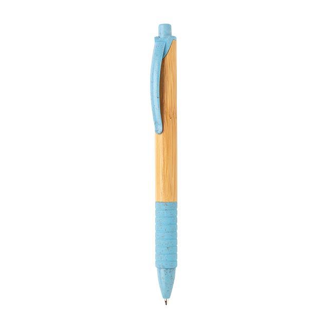Pero z bambusu a pšeničné slámy - modrá