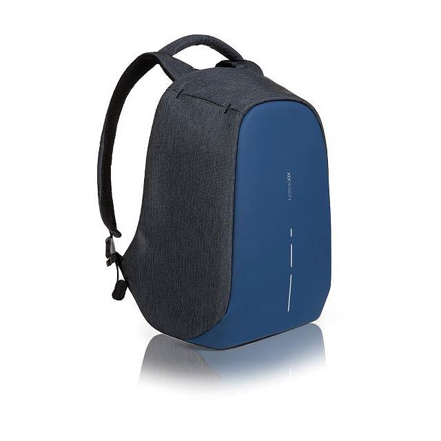 Batoh Bobby Compact s ochranou proti vykradení, modrá - modrá