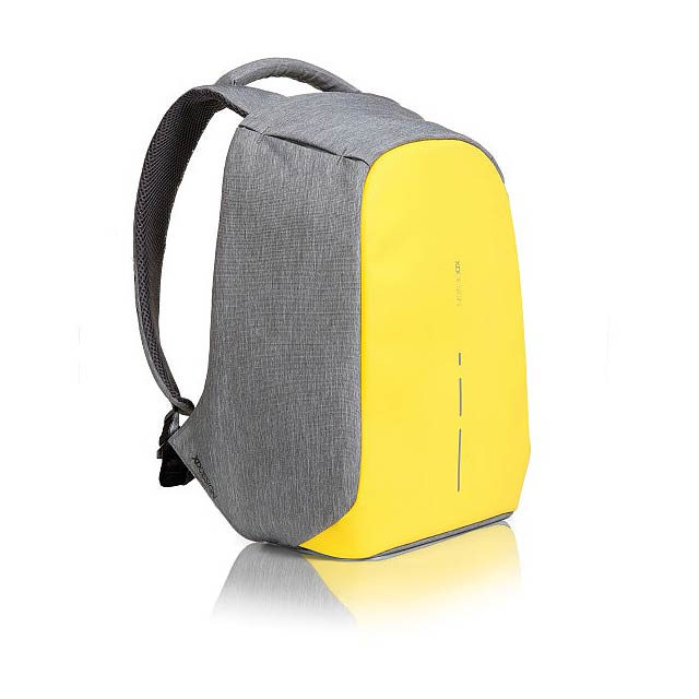 Batoh Bobby Compact s ochranou proti vykradení, žlutá - žlutá