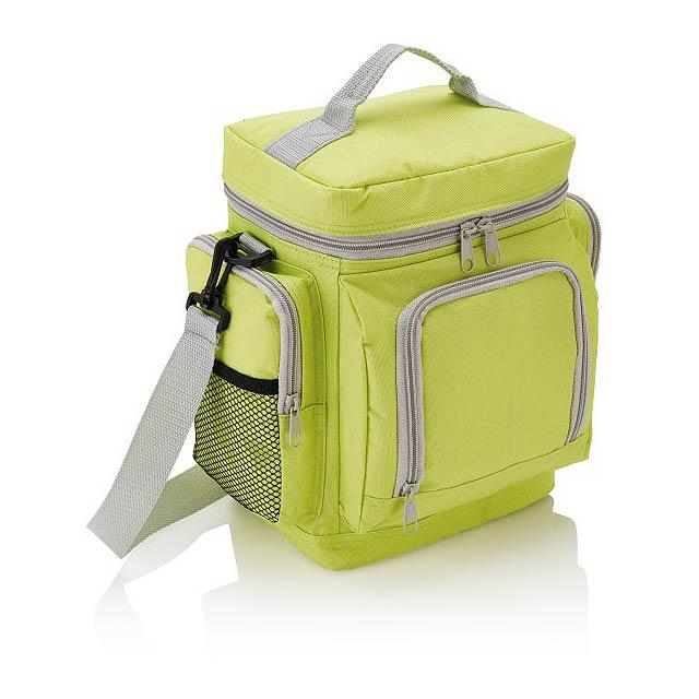 Cestovní chladicí taška Deluxe, zelená - zelená