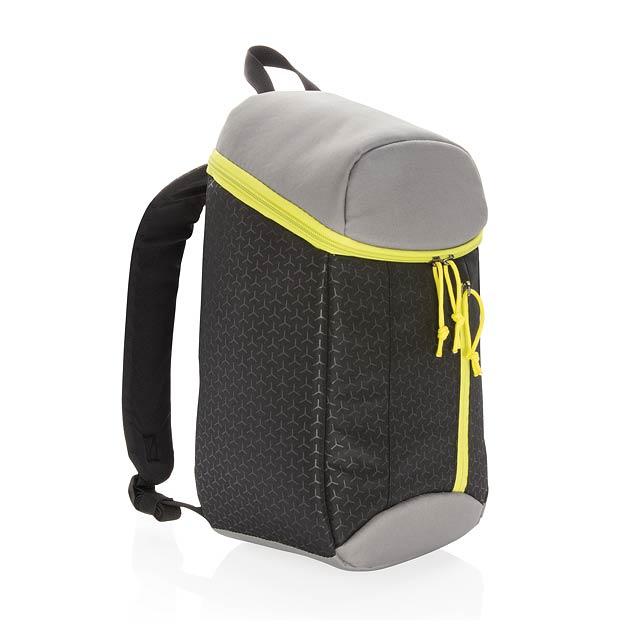 Cestovní chladící batoh 10L - černá