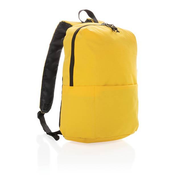 Základní batoh PVC free - žlutá