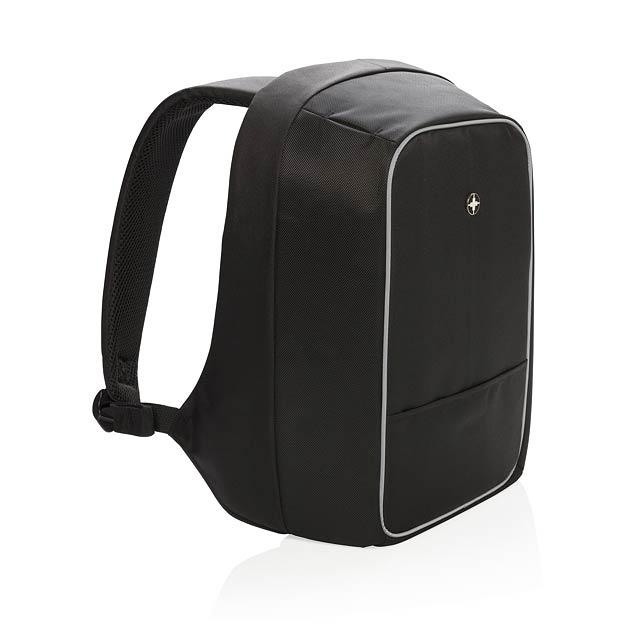 """Nedobytný batoh na 15,6"""" notebook - černá"""