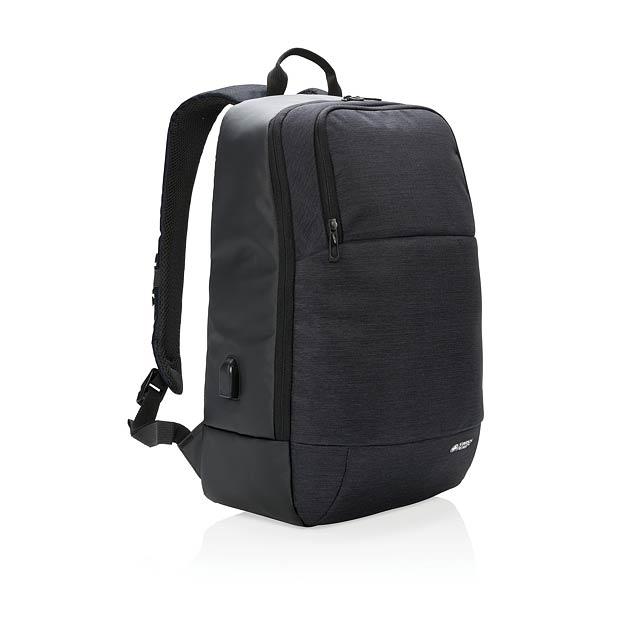"""Moderní batoh na 15"""" notebook - černá"""