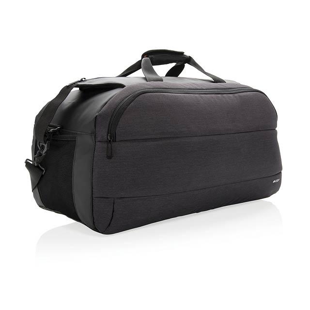 Moderní cestovní taška - černá