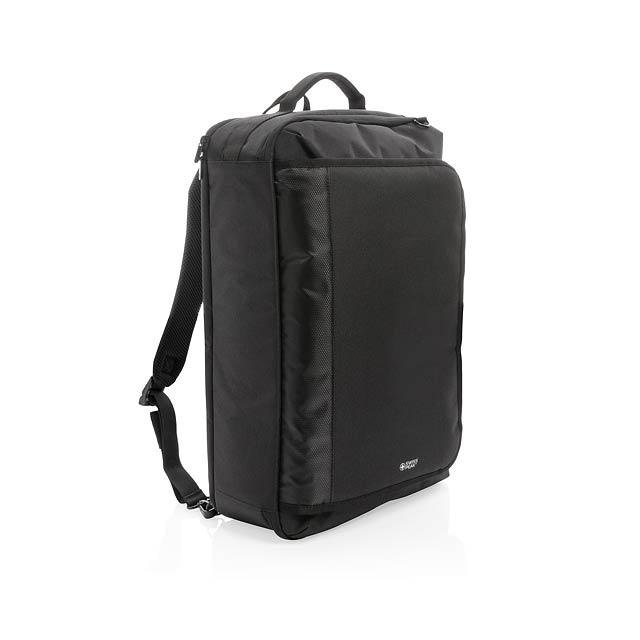 Konvertibilní batoh Swiss Peak - černá