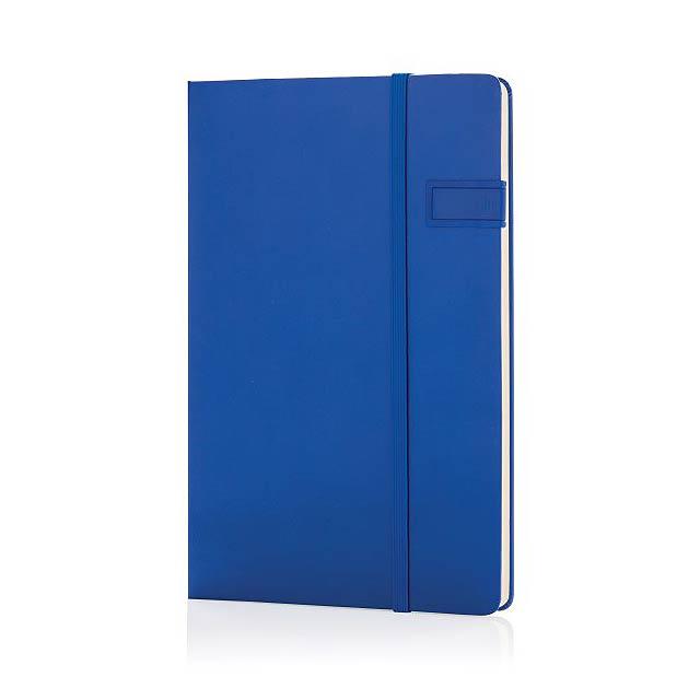 Datový poznámkový blok s4GB USB, modrá - modrá