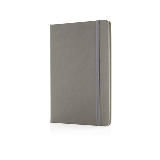 Poznámkový blok A5 - šedá