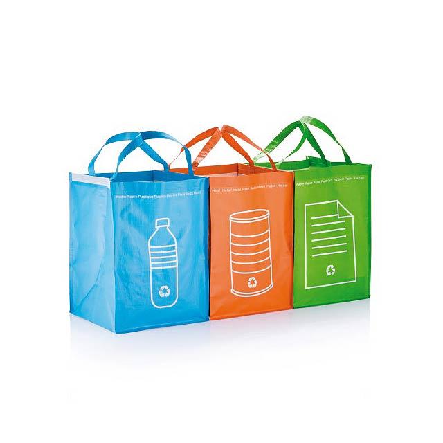 Tašky na tříděný odpad -