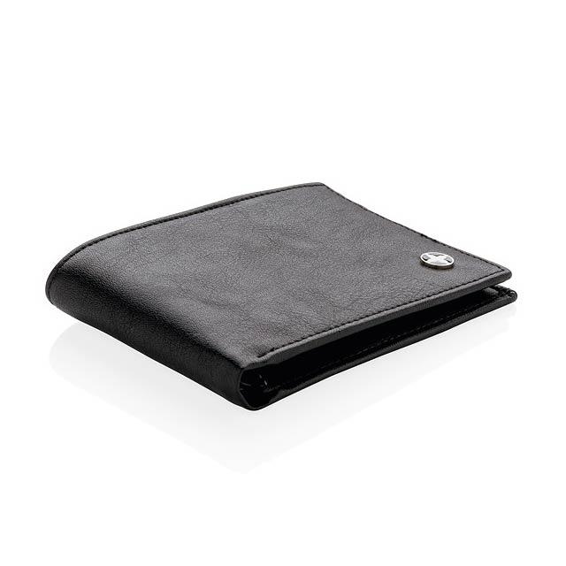 Peněženka s RFID ochranou - černá