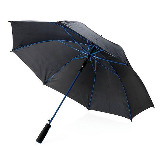 "Barevný 23"" deštník ze sklolaminátu, modrá - modrá"
