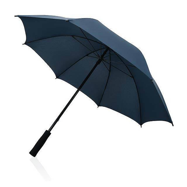 """23"""" odolný deštník ze sklolaminátu, námořní modř - modrá"""